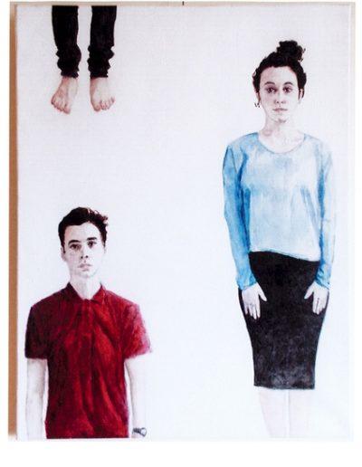 Jeune couple -  Pier Esquilat