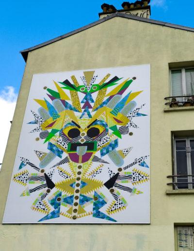 Masque repoussoir - Sylvie Barbier